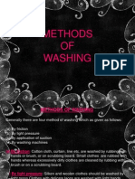 Methods of Washing