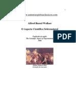 Alfred Russel Wallace - O Aspecto Científico do Sobrenatural