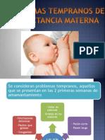 7.6 - Problemas Tempranos de La Lactancia Materna