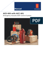 Acs 400 Instruction Manual