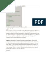 Configuración e Instalación del emulador WINE EN LA CANAIMA