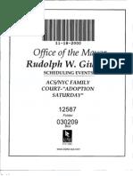 "Box 0302099 Folder 12587 (Staging ""Adoption Saturday,"" 200 NYC adoptions, Nov 2000)"