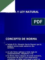 01norma y Ley Natural