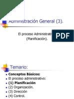Adm. General 3 Proceso Adm Planif