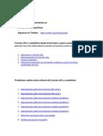 PDF Funcion Afin y Cuadratica