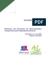 2009 Memoria Encuentro Colombia