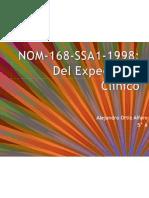 NOM-168-SSA1-1998