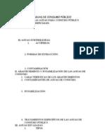 Aguas de Uso Publico Acuiferos y Caracteristicas