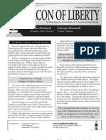 The Beacon of Liberty, Vol. I, Summary Issue