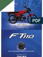 Manual Italika FT 110