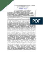 Informe Uruguay 23-2012