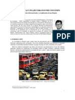 Autopistas y Peajes Urbanos Por Concesion_Daniel Alvarez