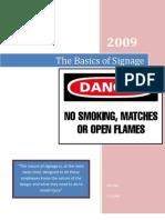 The Basics of Signage