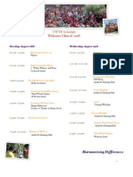 TWTP Schedule