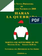 Catalogo Remate 4 Septiembre 2012 (1)