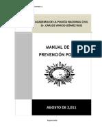 Manual de La Prevencion Policial Guatemalteca