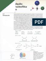 2cap 6 Haluros de Alquilo, Sustitucion Nucleofilica y Eliminacion
