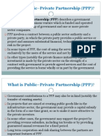 What is Public–Private Partnership (PPP)