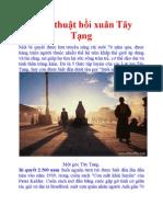 Bí ẩn thuật hồi xuân Tây Tạng