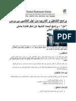 آليات التشغيل و التدريب من أجل التشغيل في تونس