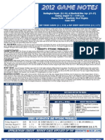 Bluefield Blue Jays Game Notes 8-12