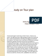 Case Study on Tour Plan (1)