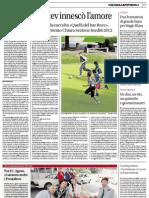 """Il racconto """"Il buco nella ramina"""" pubblicato sul Corriere del Ticino"""