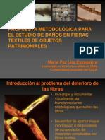 PROPUESTA METODOLÓGICA PARA EL ESTUDIO DE DAÑOS EN