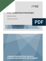 IPv6 Juniper Presentation