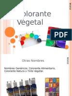 Colorante Vegetal