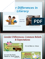 Gender Differences in Literacy