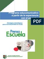 ESTRATEGIAS METODOLÓGICAS PARA EL USO DEL PERIÓDICO EN EL AULA CCB 2012 (1)