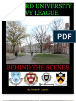 Harvard University and Ivy League - Behind the Scenes