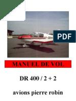 Manuel de Vol DR400 2+2