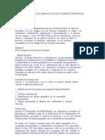 Reglamento de La Ley Organica de Los Consejos Comunales