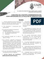 Convocatoria Cartel Concurso Logo 39