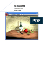 How to Save a Max File as a JPEG