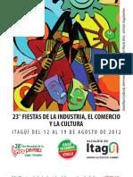 Programación 23° Fiestas de la Industria, el Comercio y la Cultura