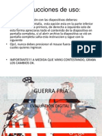 evaluación digital GUERRA FRÍA