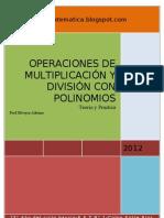 Operaciones de Multiplicacion y Division Con Polinomios (Reparado)