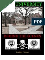 Yale University - Behind the Scenes