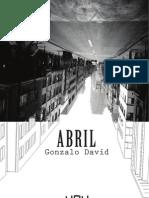 Abril - Gonzalo David