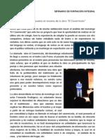 """""""El Cavernícola"""" Análisis de la puesta en escena de la obra"""