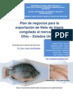 Plan de Negocios Para Venta de Filete de Tilapia a Ohio EEUU