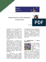 Bloques Económicos y el Nuevo Regionalismo en América del Sur