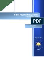 2010 Audit--Fixed Assets Management 05-20-10