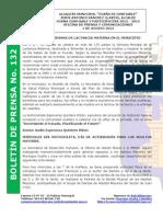 Boletin de Prensa 132