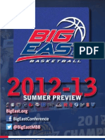 Big East Basketball Preview - 2012/13