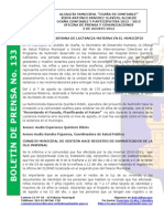 Boletin de Prensa 133