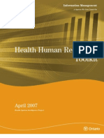 (2007) Health Human Resources